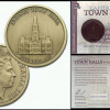 2012: Sydney ANDA $5 Antique Uncirculated Coin - Sydney Town Hall