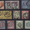 Great Britain: 1887/92 - useful selection of used QV Jubilee issues to 1/- SG197/211 & SG 213/14 - total c.v. £320 (18)