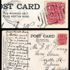 NSW: 1907 - Booroorban / 1099 Duplex on Postcard