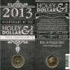2013: $1 - 'Holey Dollar & Dump' Dollar Coin -